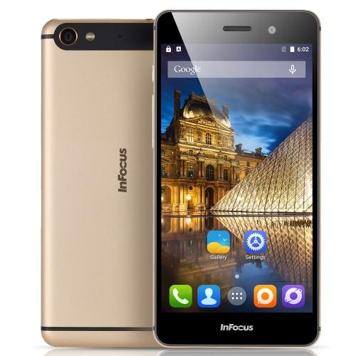 InFocus M560 V5 M808i Smartphone 4G FDD-LTE 3G WCDMA MTK6753 64-bit Octa Core 5.2