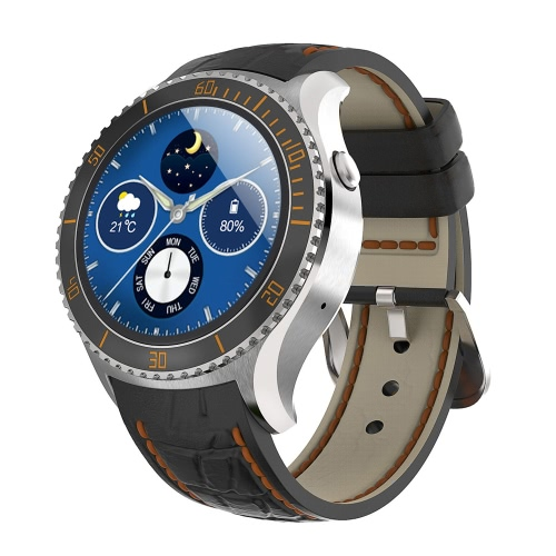 I2 Watch Phone 3G 2G Smart Watch Android 5.1 OS MTK6580 Quad Core 512MB RAM 4GB ROM 1.33inch Screen Bluetooth 4.0 for Android 5.4 Bluetooth 4.0 Above Smartphone   Pedometer Sedentary Reminder Heart Rate Monitor Message Reminder Weather OTA Upgrade Voice Dialing Wifi/ GPS Function