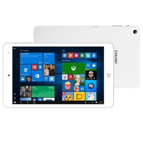 CHUWI Hi8 Pro Tablet PC intel Cherry Trail-T3 Z8300 Quad Core Windows 10 / Android 5.1 Dual OS 8