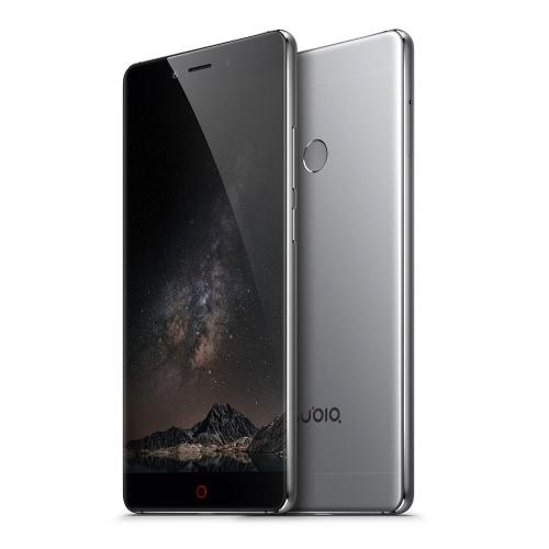nubia Z11 Edgeless Smartphone 4G LTE 3G WCDMA Qualcomm Snapdragon 820 64-bit Quad Core 5.5 Inches 2.5D Arc FHD 1920*1080 Pixels Screen nubia UI OS 4GB RAM+64GB ROM 8MP+16MP Dual Cameras 0.1s Fingerprint Unlock Quick Charge 3.0 Type C OTG NFC Dual-band WiFi Spit-screen Metal Body HiFi Dolby