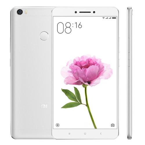 Original Xiaomi Max 4G Smartphone 6.44inch Big Screen Display 1920*1080P Snapdragon 650 Hexa Core 1.8GHz CPU 3GB RAM 32GB ROM 16.0MP Camera 4850mAh Large Battery Dual SIM Card Fingerprint ID Mobile Phone