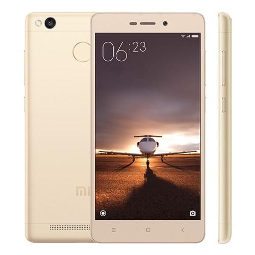 Xiaomi Redmi 3S Smartphone 4G LTE 3G WCDMA TD-SCDMA MIUI 7 OS Octa Core Qualcomm Snapdragon 430 64bits 5.0