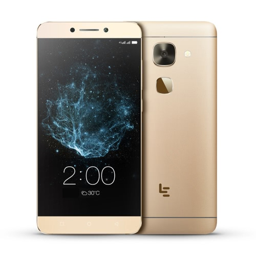 Letv LeEco Le 2 X620 Frameless Fingerprint Smartphone 4G MTK Helio X20 64-bit Deca Core 2.3GHz 5.5 Inches FHD 1920 * 1080 Pixels Screen Android 6.0 3GB RAM+32GB ROM 8MP+16MP Dual Cameras Infrared Remote HotKnot 3000mAh