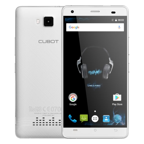 CUBOT eco Smartphone 3G WCDMA Android 6.0 OS MTK6580 Quad Core 5.0