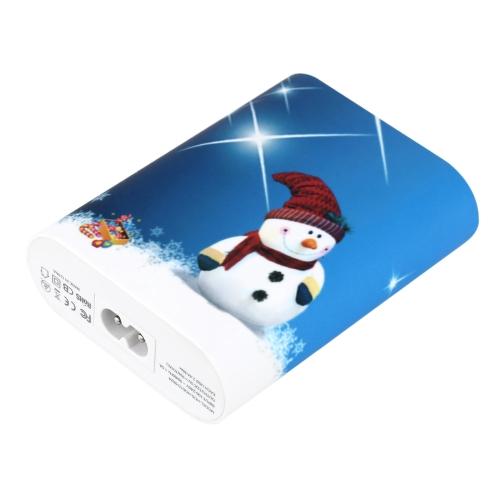 HUNDA Inteligente Adaptador de Carregador USB de 5-Porta de IC Esperto de Identificação 2,4A Fonte de Alimentação para Apple Samsung Telefone Inteligente