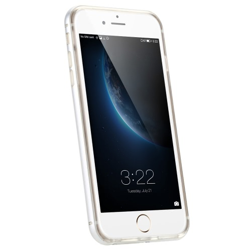 KKmoon タルフレーム+ TPU電話ケース 保護カバー シェル 環境に優しい素材 スタイリッシュ  ポータブル 超薄型 アンチスクラッチ アンチダスト 耐久性 iPhone 6 6S 用
