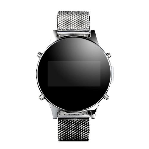Podomètre Bluetooth MT360 Android à puce avec bracelet en métal