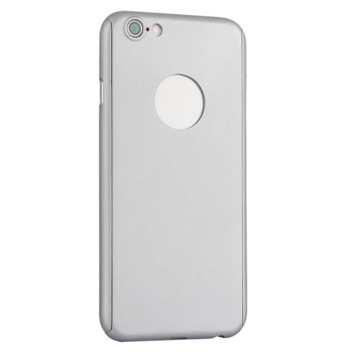 KKMOON 360 ° a tutto tondo di protezione Slim Case durevole copertura Shell con schermo in vetro temperato la pellicola della protezione per iPhone 6 6S