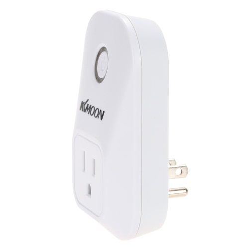 KKmoon 2200W 110-240V US Standard Wireless WiFi Smart Plug Socket Electronics télécommande commutateur minuterie Sortie Fonction de synchronisation pour Air Conditioner