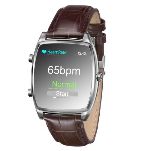 元 iNew エイチワン スマートウォッチ 1.54 インチ 2.5 D 240 * 240px 画面表示血圧心拍数スポーツ睡眠モニター家族相互作用健康の腕時計 iPhone 6 6 s プラス サムスン S6 S7 に加えてスマート フォン iOS 人造人間デバイス