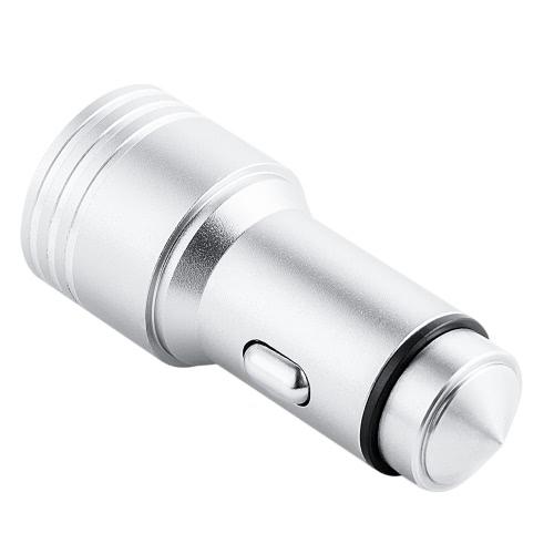 BT-A08 5 em 1 Universal Car Cigarette Direcção Carregador BT FM Transmitter Segurança Martelo Transmissão GPS para Edge Samsung S7 portátil iPhone 7 Plus Seguro