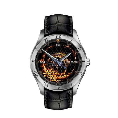 """Q5 Quad Core 1.3GHz 3G Smart Watch 1.39 """"Relógio AMOLED Multi-funcional Relógio de pulso Smartwatch BT4.0 Built-in Nano SIM Card Slot Support Pedofila Cardíaca Jogador de música Função de navegação GPS"""