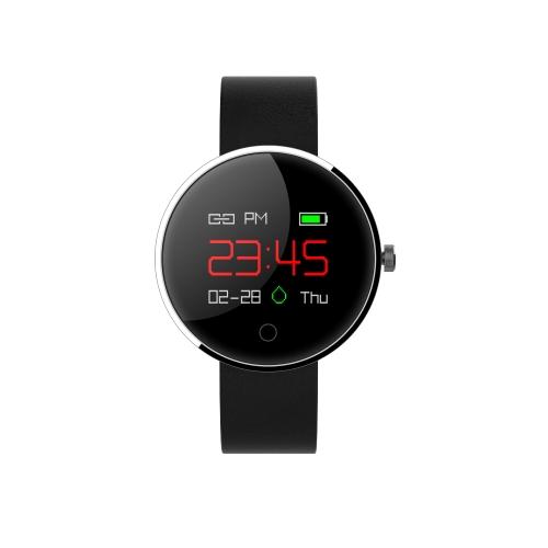 """Relógio Multi-funcional de Pulseira Inteligente com tela de toque Monitor OLED a cores de 0,95 """"impermeável BT4.0 relógio de pulso Smartwatch Freqüência cardíaca / Pressão sanguínea / Monitor de sono Pedômetro Notificação de mensagens de lembretes de chamada"""