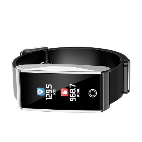 Image of 0,96 bunte Display multifunktionale Smart Armband Touchscreen BT4.0 Smartwatch Armband Uhr unterstützt Herzfrequenz / Blutdruck / Schlaf Monitor Schrittzähler Anruf Erinnerung Nachrichten Benachrichtigung und weitere Funktionen