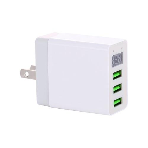LED-Anzeige 3 USB-Ladegerät Universal-Handy USB-Ladegerät Schnellladegerät