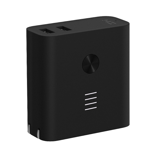 Xiaomi ZMI 2 in1 QC3.0 Dual USB Wall Charger with 6500mAh Power Bank