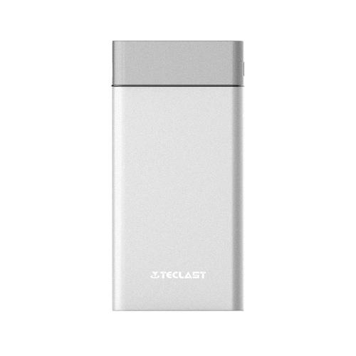 Banco de potência Teclast T100UC 10000mAh dupla entrada USB