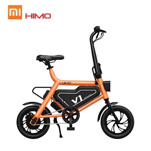 Xiaomi HIMO V1 Bicicleta Dobrável Portátil Ciclomotor Bicicleta Elétrica Dobrável Multi-modo de Equitação 250 W 30 KM 100 KG de Carga Máxima
