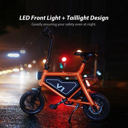 Xiaomi HIMO V1 Foldable Bicycle Portable Moped Electric Bike Folding Multi-mode Riding 250W 30KM 100KG Max Load