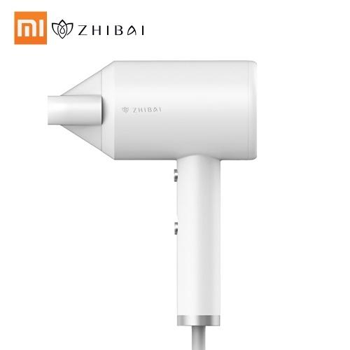 Xiaomi Zhibai Фен Мини Портативный Анион Фен 1800 Вт 2 Скорость Температура Mi Воздуходувки для Комплектов Путешествия Дома