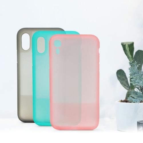 Силиконовый чехол для телефона для iPhone XS Красивый цвет Anti Shock Полупрозрачный чехол для телефона Водонепроницаемый пылезащитный чехол для телефона от Xiaomi Youpin фото