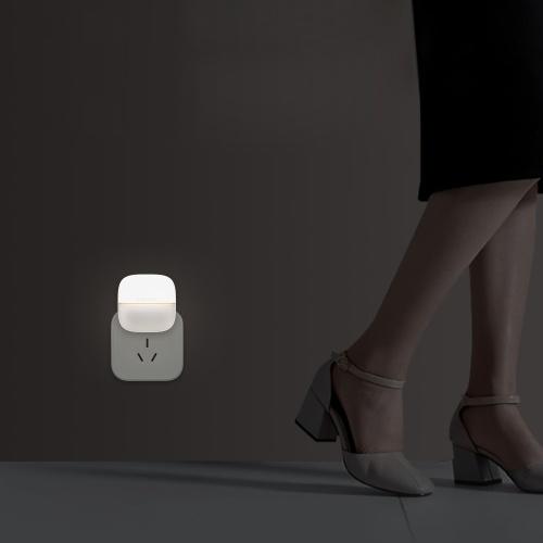 Xiaomi Yeelight Nachtlicht LED Wand Plug-in Lampe gesteuert Infrarot Bewegungssensor Induktion Schlaflicht