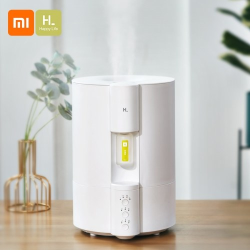 Xiaomi HL Air Aromatherapy Diffuser HLEOD02  Humidifier Quiet Aroma Mist Maker with Nightlight for Car Home Office Yoga