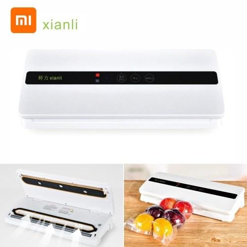 Xiaomi Xianli Vacuum Packing Machine Household Food Vacuum Sealer Packaging Machine Film Sealer Vacuum Packer 100-240V