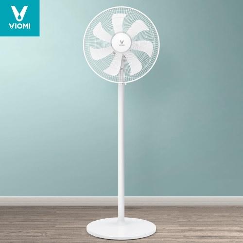 Ventilador eléctrico VIOMI, ventilador de oficina en casa de pie, enfriador de aire de verano, aire acondicionado, viento natural, 3 velocidades de viento