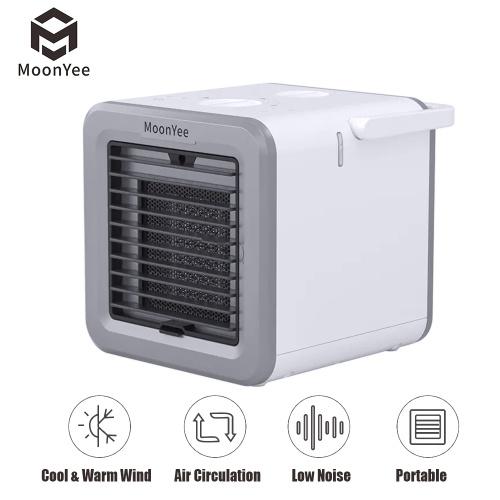 Xiaomi Youpin Moonyee обогревающий вентилятор охлаждения мини настольный кондиционер интеллектуальный вентилятор с постоянной температурой 300 мл резервуар для воды 500 Вт 220 В