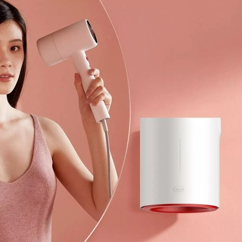 Xiaomi Youpin Deerma DEM-GS100 Asciugacapelli Anione Macchina multifunzionale per asciugare le mani IPX1 Impermeabile 220V 1800W Ventilatore per acconciature