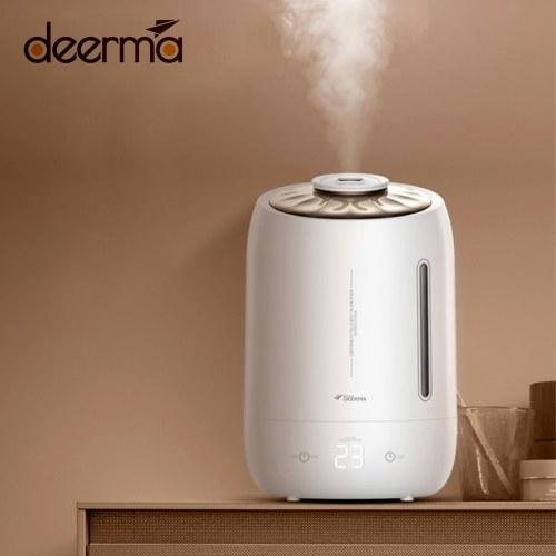 Увлажнитель воздуха Deerma F600 5L Бытовой очиститель воздуха Mist Maker Сенсорный экран синхронизации 3 режима Регулируемый туман для домашнего офиса 220 В