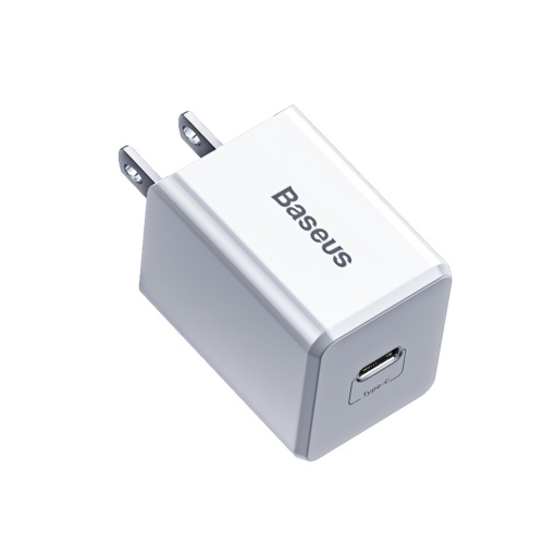 Baseus PD Quick Charger Type-C 18W USB C Charger PD 3.0 Wall Charger Fast Charging Compatible with iPhone 12 2020 iOS Android for Home Traveler US Plug