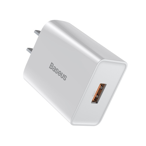 Baseus QC Single U Quick Charger USB Wall Charger One-Port 18W USB Phone Charger