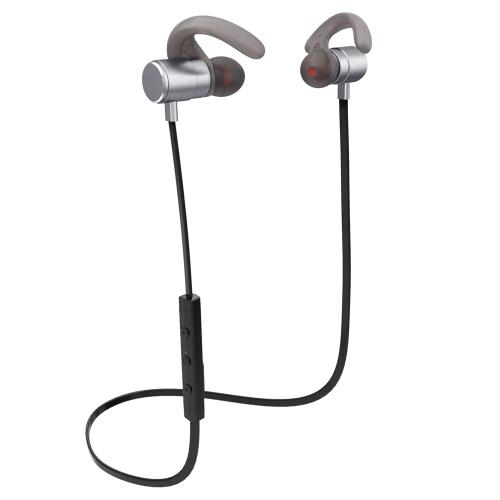 Fozento FT4 BT Fone de ouvido sem fio Negócios Desporto fone de ouvido estéreo fone de ouvido mãos-livres par / off / on receber / pendurar musica reproduzir / pausar volume +/- para iPhone 7 Plus Samsung S8 +