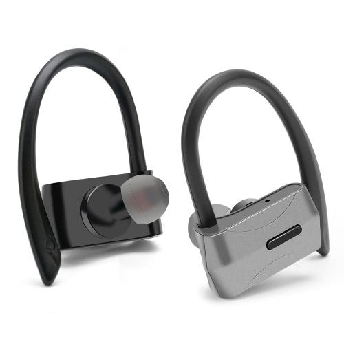 D02 Business Sport Écouteur intra-auriculaire stéréo sans fil BT4.1 écouteur casque écouteur mains libres Paire / Off / On Recevoir / suspendre la musique Lecture / pause pour iPhone X Samsung S8 + Note 8