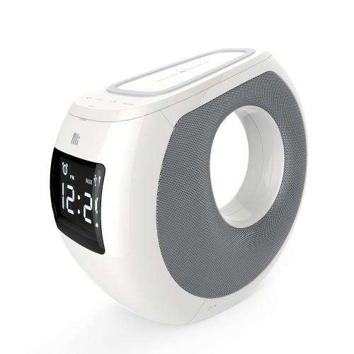 NILLKIN MC1 BT с функцией беспроводной зарядки QI NFC Pairing LCD Time Display Будильник USB зарядка для iPhone X iPhone 8 Samsung S8
