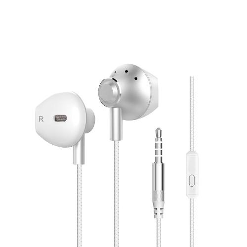 BAYASOLO X2 Douszne Słuchawki douszne Przenośne Sportowe Słuchawki Stereo Słuchawki Running zestaw głośnomówiący 3.5mm z Mikrofonem dla iPhone Samsung S8 + Uwaga 8