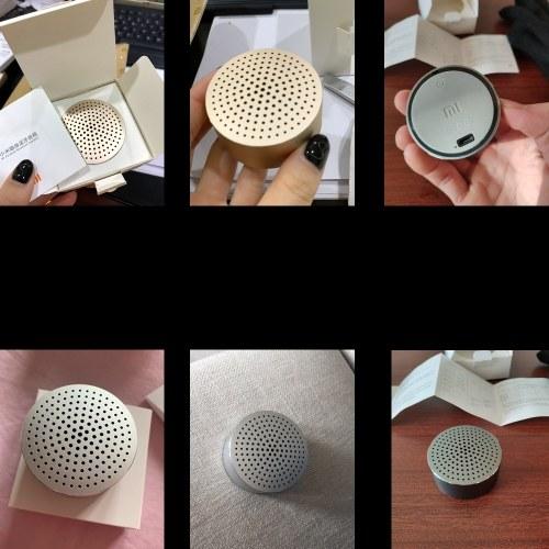 Xiaomi BT Speaker Беспроводная портативная интеллектуальная звуковая коробка Басовые колонки Аудиоплеер Автомобильный комплект громкой связи Усилитель музыки Мини-MP3-плеер Музыкальный аккумуляторный динамик фото
