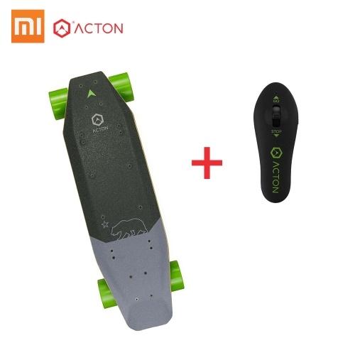 Xiaomi ACTON Blink SR Scooter de Skate Inteligente Elétrico de 7 Milhas de Gama LEVOU Iluminação Remoto Sem Fio 3 Modos de Passeio Único Sistema de Cubo