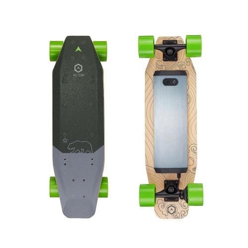 Xiaomi ACTON Blink SR Intelligentes elektrisches Skateboard-Roller 7 Meilen Reichweite LED Beleuchtung Wireless Remote 3 Fahrmodi Single Hub System
