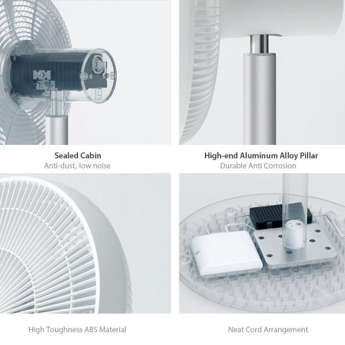 New Xiaomi Smartmi Pedestal Fan 2 Floor Home DC Standing Fan