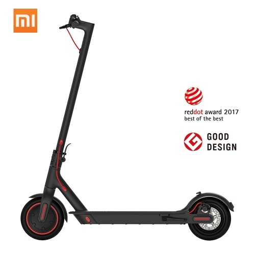 Xiaomi Mijia 2019 New Electric Scooter M365 Pro Foldable Smart Skateboard 12.8Ah Battery Max. 45KM Mileage Range - Black