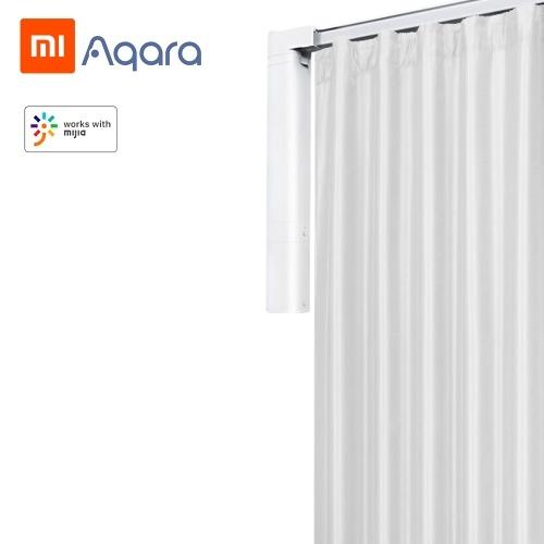 Xiaomi Aqara B1 Motor de cortina inteligente APP Controle remoto Motor de temporização sem fio Motor de cortina elétrica Bateria embutida para controle de cortina doméstica inteligente 100-240V ZNCLDJ12LM