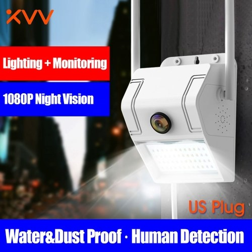 Global Version Xiaovv D6 Camera MVR3120S-D6 Intelligent 1080P Waterproof IP Camcorder Wall Lamp IR Night Vision Motion Detection Outdoor Camera Home Security Camera