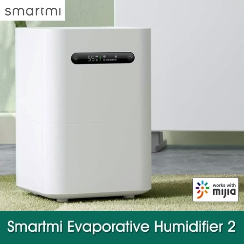 Smartmi Evaporative Humidifier 2 Home Office Air Dampener Aroma Diffuser Essential Oil Smart Air Purification Humidifier Mijia APP Control CJXJSQ04ZM 100-240V