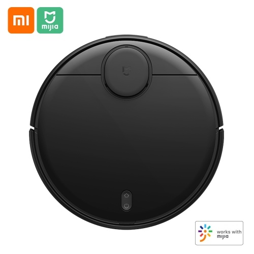 Xiaomi Mijia Robot Vacuum Cleaner STYJ02YM Sweeping Mopping 2100Pa Suction LDS Laser Navigation Home Sweeper Three Modes 3200mAh Cleaner APP Remote Control 220V