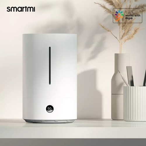 Smartmi Smart Antibakterieller Luftbefeuchter 1S UVGI UV Ultraleicht 99% Sterilisation OLED Touch Display 400 ml / h 3,5 l Wassertank Arbeiten mit Mijia APP
