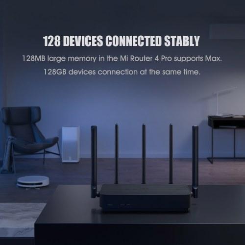 Xiaomi Mi Router4 Pro Gigabit 2.4GHz 5GHz WiFi 1317Mbps Qualcomm Chipset WiFi Repeater