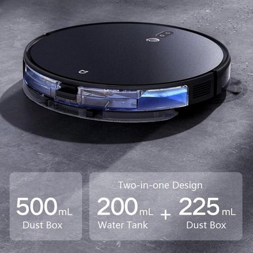 2021 New Xiaomi Mijia Robot Vacuum Cleaner 2000Pa 5.5cm Ultra-Thin Sweeping/ Vacuuming/Mopping 3-in-1 Self-Charging Robotic Vacuum Cleaner